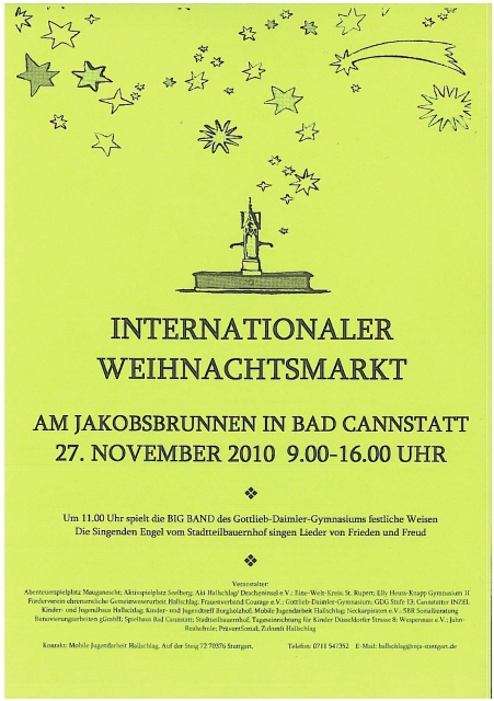 internationaler Weihnachstmarkt